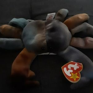 Claude beanie baby
